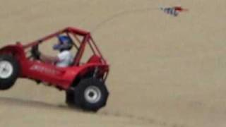 pismo july 2010 danny jumping and rolling honda pilot fl400