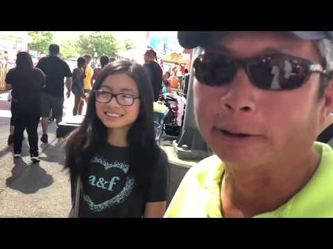 California State Fair Family VLOG Chinese Silent Disco! ITS LIIT AND FUN