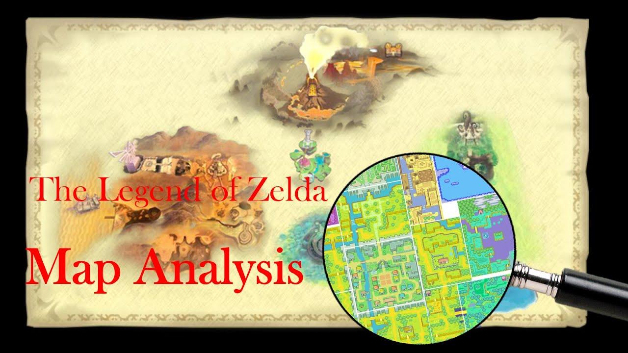 The Legend Of Zelda Map Analysis