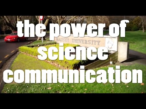The Power of Science Communication
