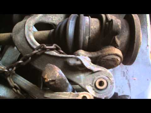 PEUGEOT 407 BOTTOM BALL JOINT REMOVAL REPLACMENT,part 1