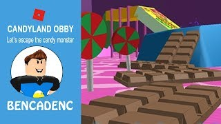 ESCAPE CANDYLAND OBBY / ROBLOX LET'S PLAY