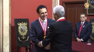 Tema: Dr. Anthony Athala es condecorado Dr. Honoris Causa