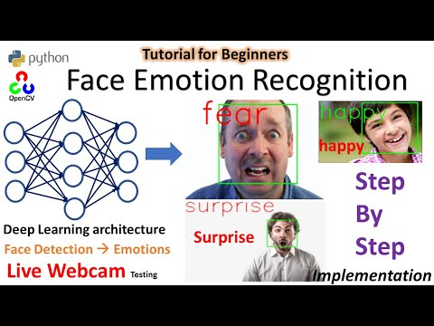 Realtime Face Emotion Recognition | Python | OpenCV | Step by Step Tutorial for beginners