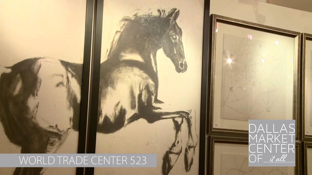 2014 Dallas Market Wendover Art Global Views - YouTube