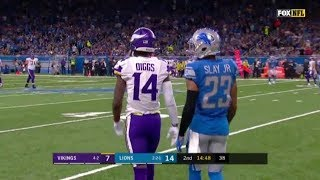 Stefon Diggs & Adam Thielen vs Darius Slay (WR vs CB) 2019 Best WR Duo?