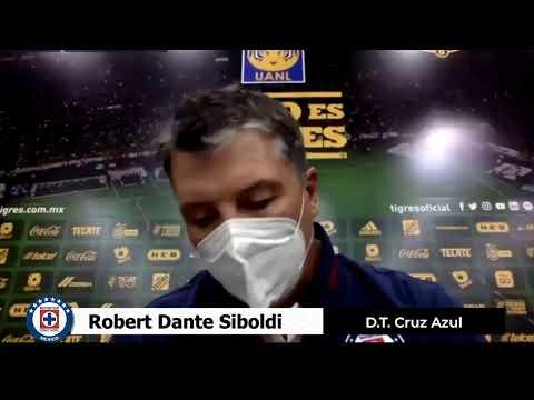 Tigres 1 - 3 Cruz Azul │ Robert Dante Siboldi │ D.T. Cruz Azul │ Conferencia de Prensa