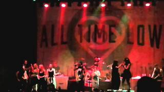 All Time Low - Time-Bomb live Sentrum Scene 2015