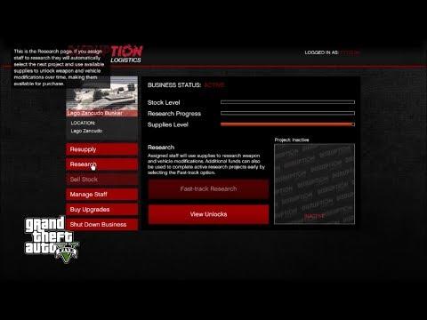 Gun Running DLC - Resupply, First Sale, Upgrades & Prices - GTA 5 Online