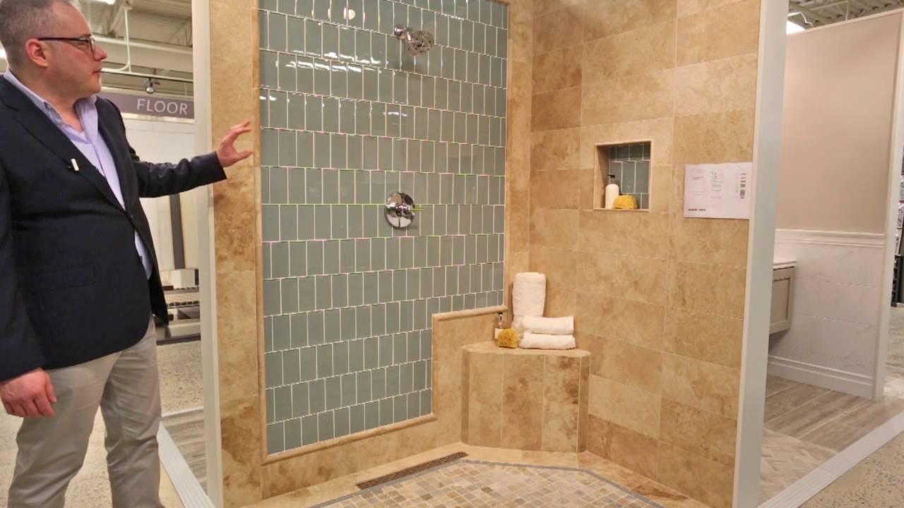 shower tile ideas blue glass subway tile design your bathroom today