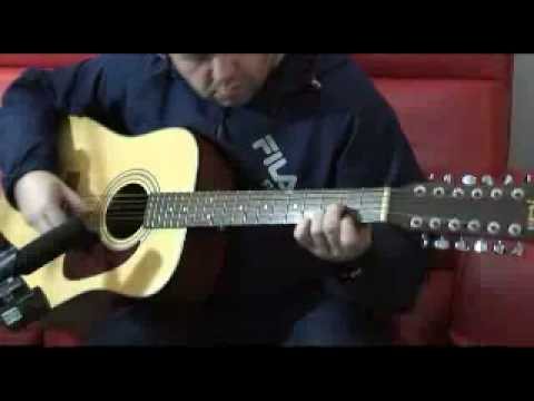 Amazing 12 string guitar piece Writen and Played  Mark Shobbrook called Blue House