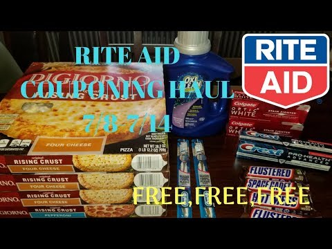 RITE AID COUPONING HAUL| 7/8-7/14| LOTS OF...