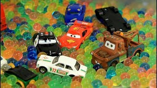 Toy cars and balls ORBEEZ Kids video