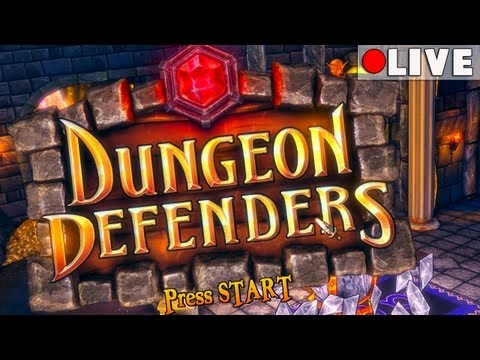 Dungeon Defenders LIVE w/FACECAM!! [Feat. CuddleofDeath, BIGCountry, & Iniquity!!]