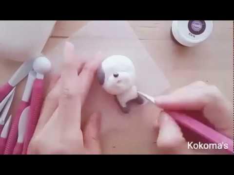 【Kokoma】用棉花糖就能做出可愛的小狗翻糖!