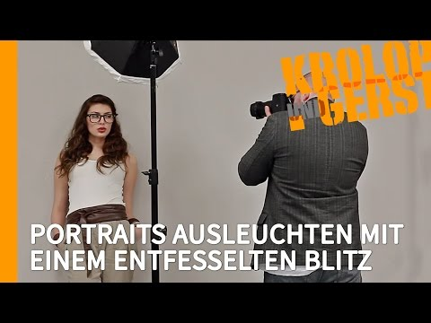 portraits ausleuchten mit einem entfesselten blitz und softbox studio krolop gerst how to save. Black Bedroom Furniture Sets. Home Design Ideas