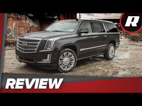 2018 Cadillac Escalade ESV Platinum: Massive Luxury At A Price