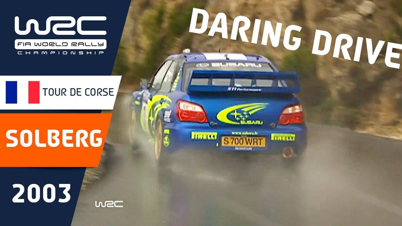 WRC History: Petter Solberg´s daring drive in 2003
