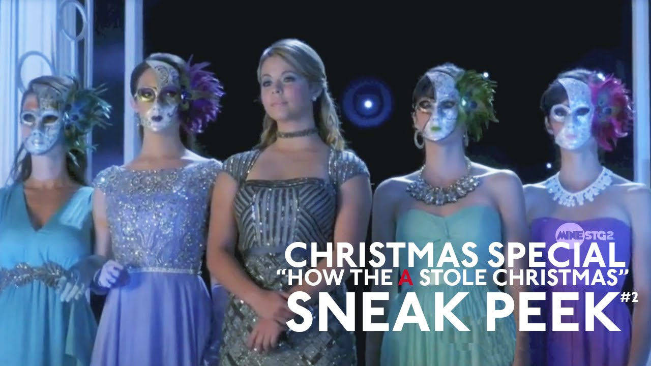 Pretty little liars christmas special sneak peek 2 quot how the a