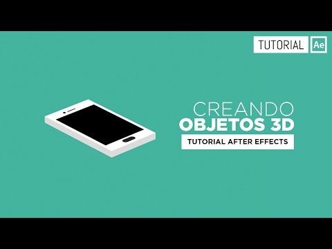 Cómo Crear Objetos 3D [Sin plugins] - Tutorial After Effects [Español]