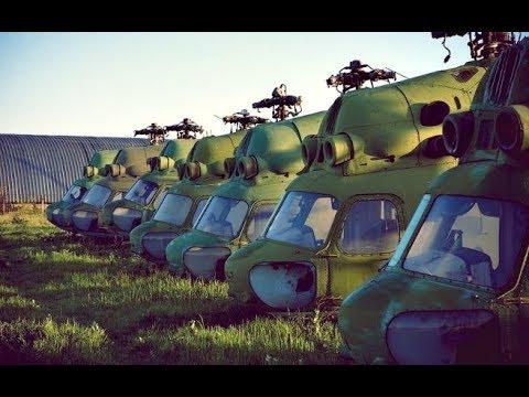 Заброшенная Украина . Обычный Аэродром, полный забытой техники ...