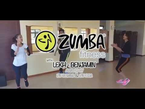 Jimmy Gassel ft Mary Jane Gaspard Afro Dance/Zumba® Fitness/Zumba With Lekh - Benjamin