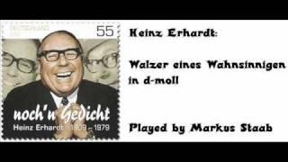 Heinz Erhardt: Walzer eines Wahnsinnigen in d-moll (Waltz of a madman)
