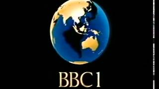 80s and 90s UK TV Idents: BBC1 Globe (Blue/Gold)