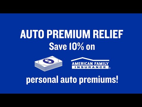 10% Auto Premium Relief Credit | American Family Insurance