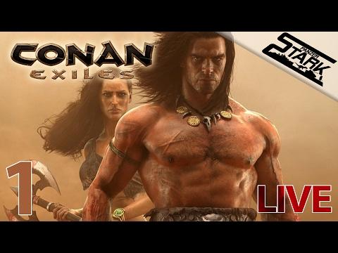 Conan Exiles - 1.Rész (Megérkezett!!) - Stark LIVE