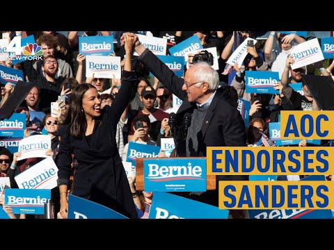 AOC Endorses Bernie