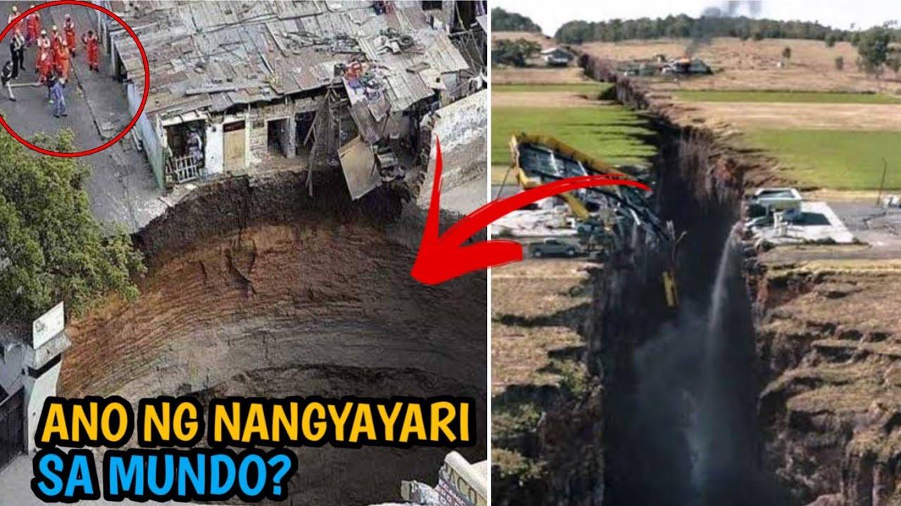 Grabe Nakakatakot Pag-Ganito na ang Nangyari satin. 8 na pinakamalaking bitak sa lupa