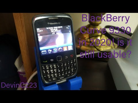 BlackBerry Curve 9330 In 2020! Is It Still Usable?