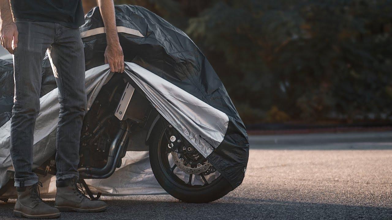 Wing Mirrors World Honda VFR800 Rider Products Waterproof Motorcycle Cover Motorbike Black