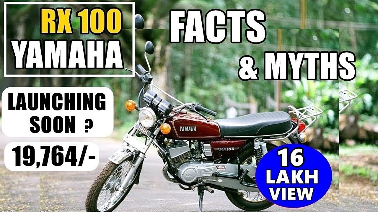 Legacy Of Yamaha Rx 100 Is It Coming Back History Specs Buy Used