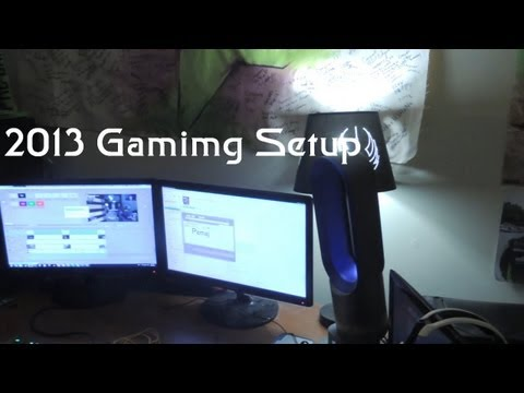 My Gaming Setup My Pc Amp Review Products August 2013 Doovi