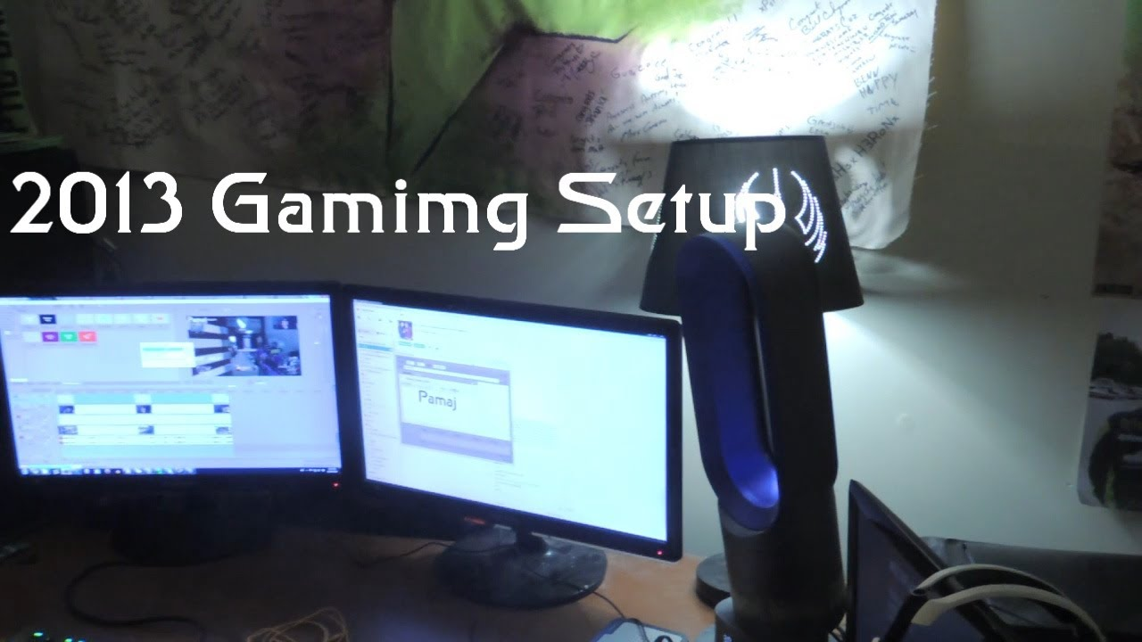 Faze Pamaj 2013 Gaming Setup Video Youtube