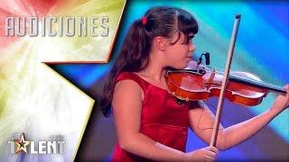 Con solo 11 años ya domina el violín mejor que cualquiera | Audiciones 7 | Got Talent España 2017