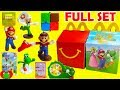 2018 Super Mario McDonald's Happy Meal Toys
