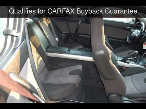 2005 Mazda RX8  MANUAL STICK SHIFT  6M BASIC WARRANTY Used