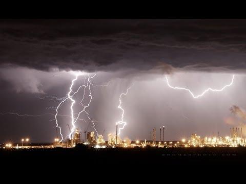 Alberta Lightning show northeast of Red Deer June 11. 2015