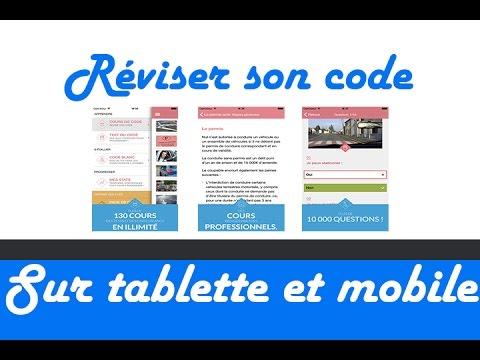 la meilleur appli pour r viser le code la route smartphone et tablette youtube. Black Bedroom Furniture Sets. Home Design Ideas
