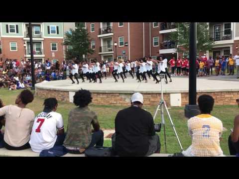 Kennesaw State Yard Show Pi Phi Alpha Kappa Alpha Sorority