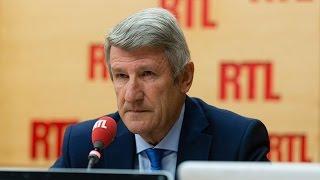 Philippe de Villiers, invité de RTL le 12 octobre 2016