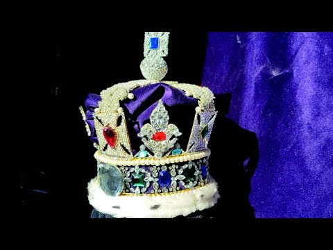 THE CROWN JEWELS COPY FAKE REPLICA FAUX : THE IMPERIAL STATE CROWN COPY VERSION 2