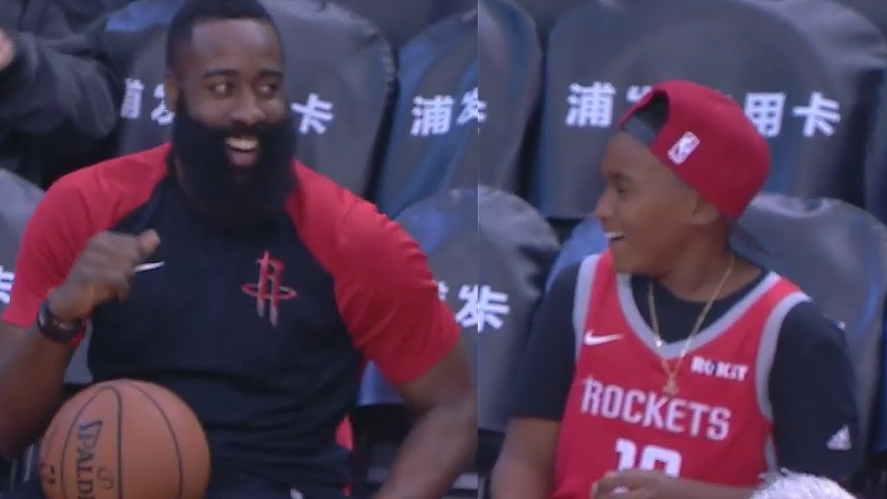 6f5232967be James Harden Brings Joy To Young Fan Diagnosed With Cancer Who Wished To  Meet Him and The Rockets!