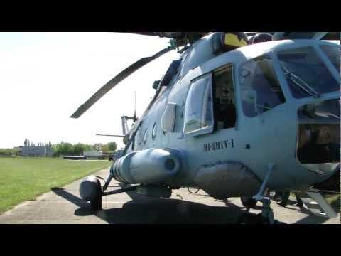 Helikopter MI-17 POLISH NAVY lotnisko AZM w Płocku
