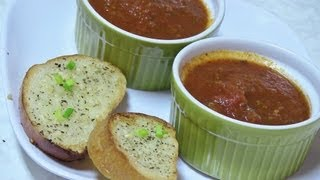 Homemade Tomato Stock, Broth And Marinara Sauce - Video Recipe