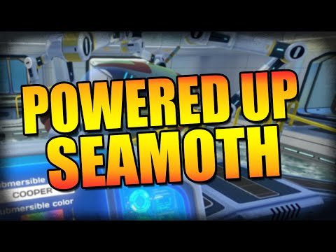 Subnautica: Super Powered Seamoth and Behind The Door!