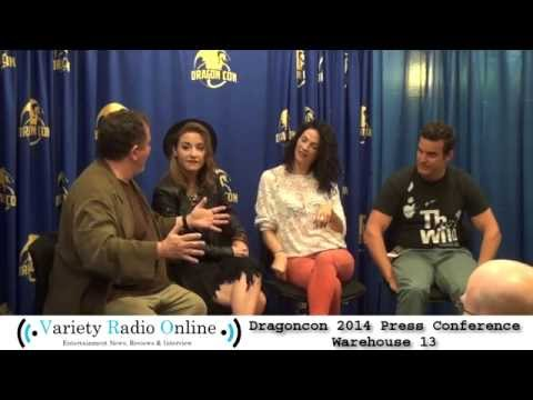 Warehouse 13 - DragonCon 2014 - Interview